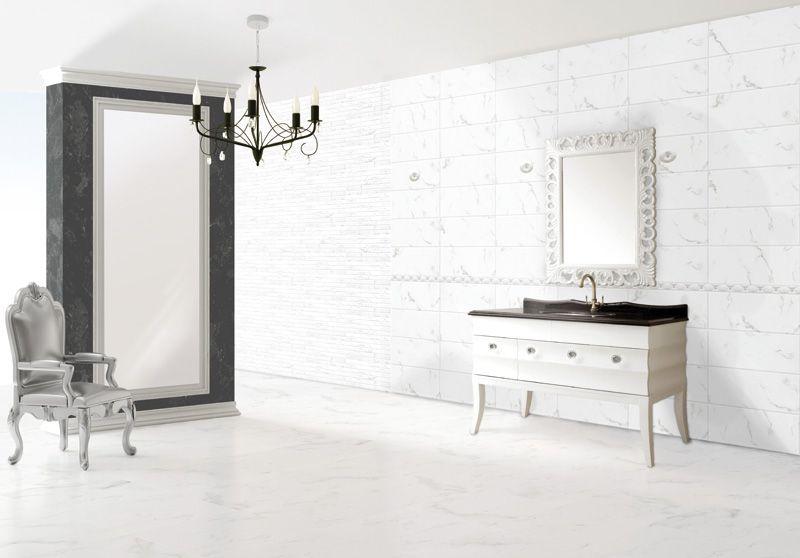 Statuario 8 X20 20x50 Cm Ceramic Wall Tile Made In Spain