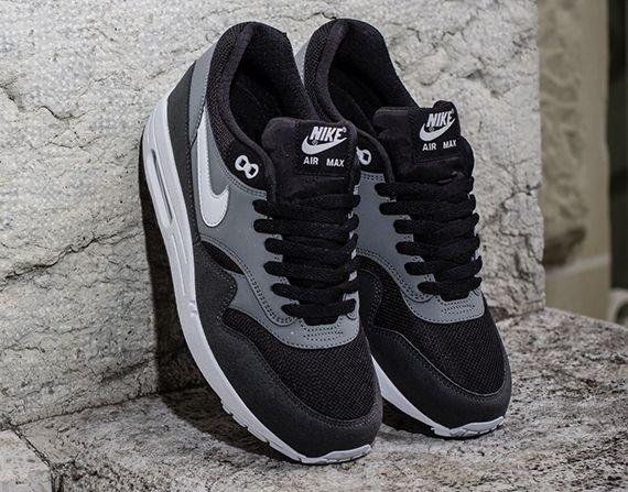 Nike Air Max 1 Essential Black Geyser Grey Cool Grey