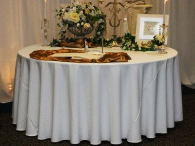 Tablecloth Rentals Online Near Me White Round