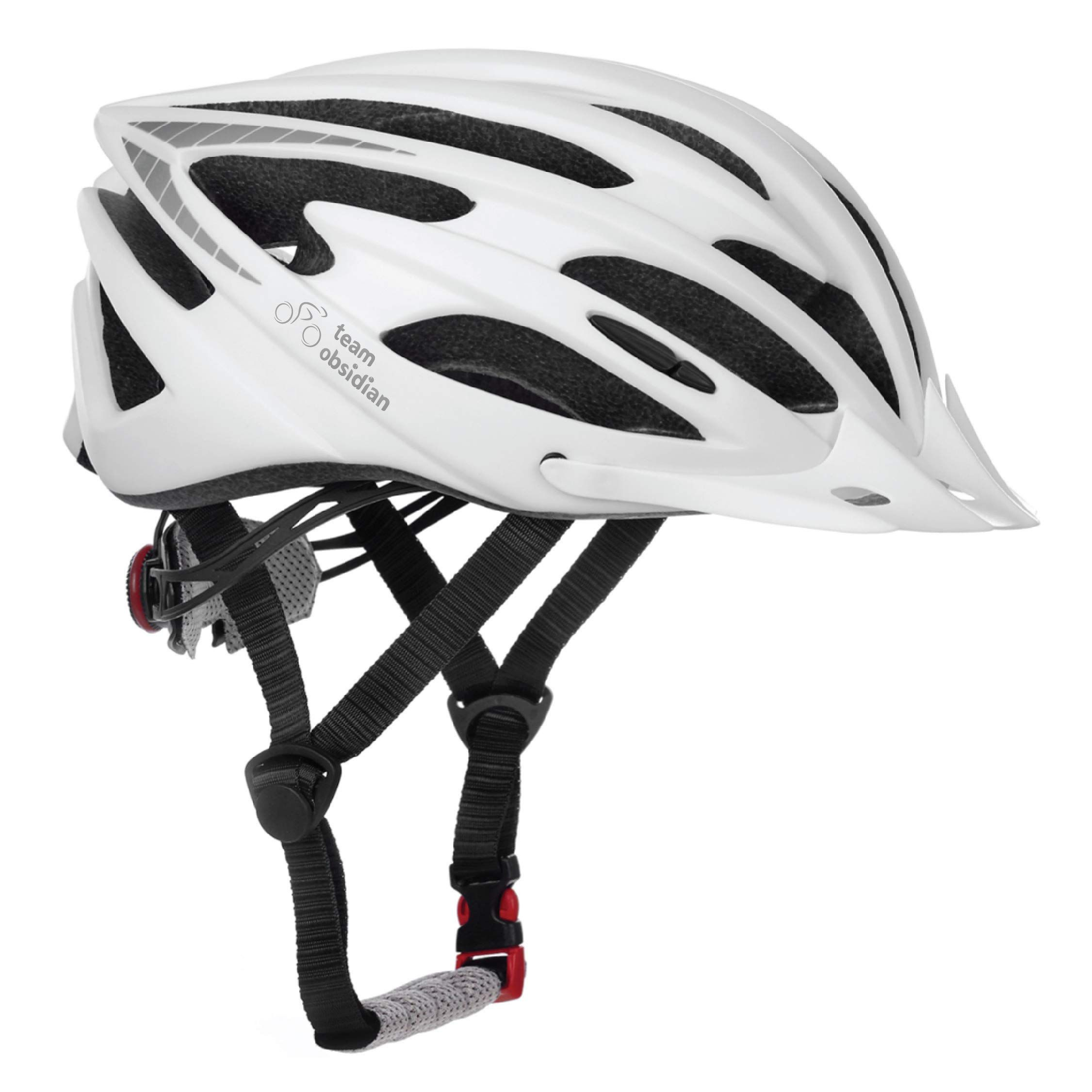 Teamobsidian Airflow Bike Helmet With In Molded Reinforcing