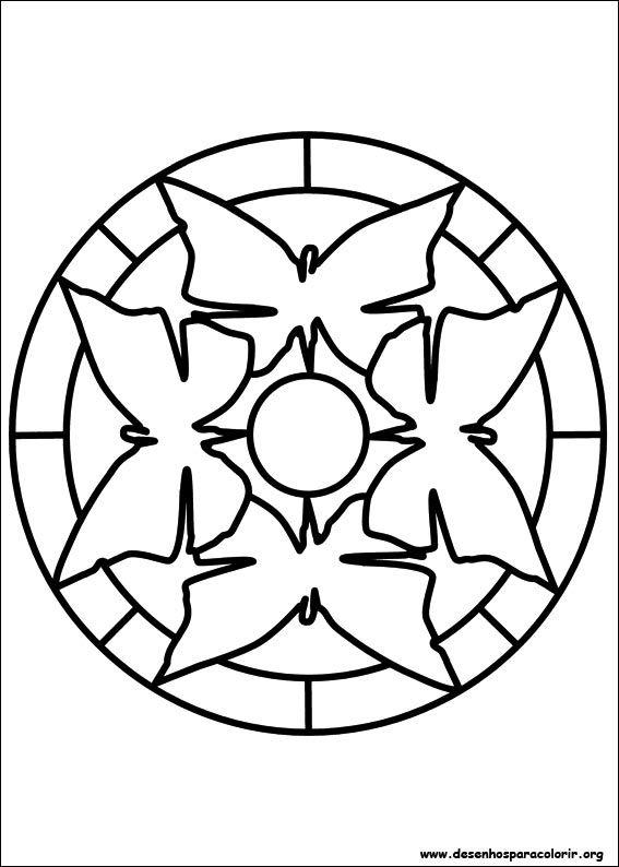 Desenho Para Imprimir Mandalas Para Criancas Mandala Facil