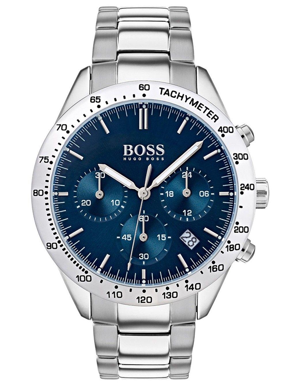 Hugo Boss 1513582 Talent Chronograph 41mm 5atm Uhren Herren Chronograph Armbanduhr Uhren Herren