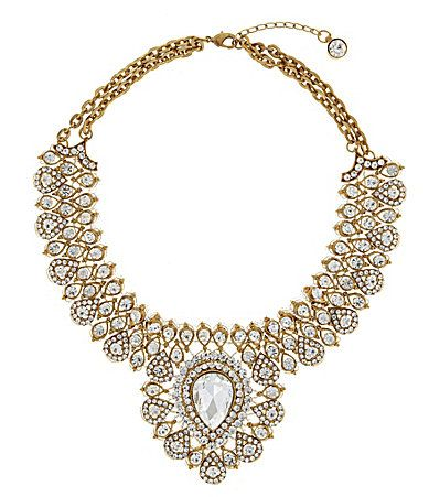 What a stunner! Natasha Maharaja Statement Necklace