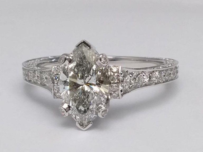 Large Unique Engagement Ring Settings