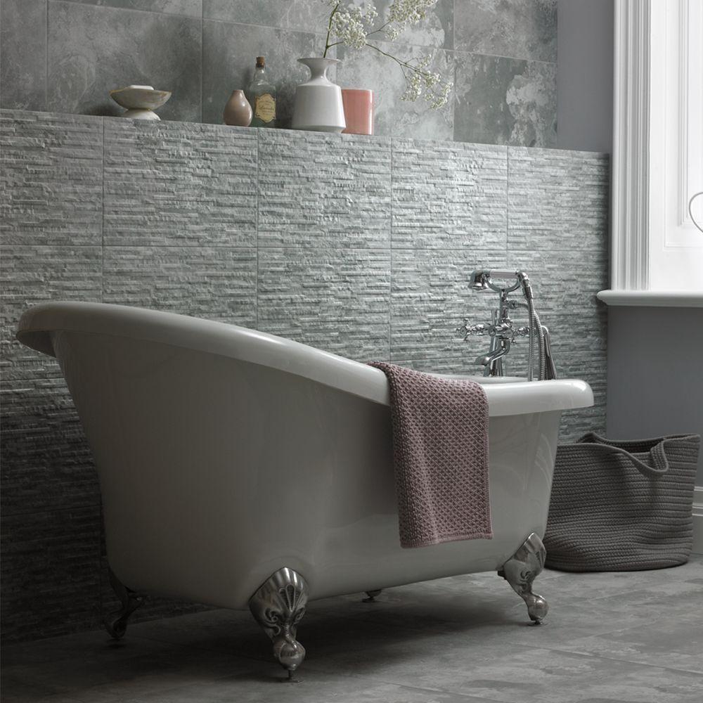 Southbank Grey Wall & Floor 298X498   bathstore   Bathroom ...