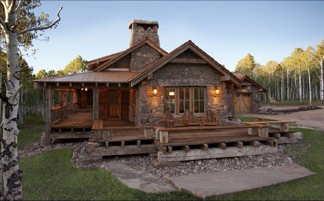 Awesome Log Home With Rustic Interior - Page 2 of 3 #cozyhomes