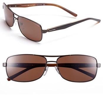 #Tommy Hilfiger           #Eyewear                  #Tommy #Hilfiger #60mm #Navigator #Sunglasses       Tommy Hilfiger 60mm Navigator Sunglasses                                      http://www.seapai.com/product.aspx?PID=4983160
