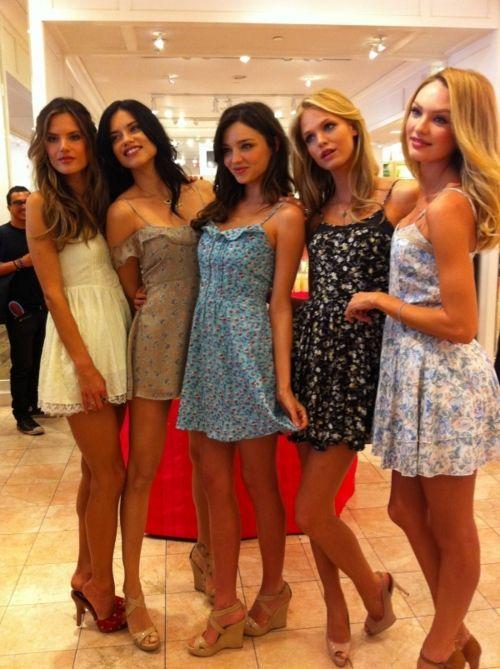 f8c89771 Alessandra, Adriana, Miranda, Erin, and Candice. The Victoria's Secret  angels!