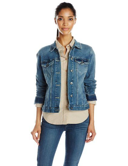 aab81463f4ecc Two by Vince Camuto Women s Classic Denim Jacket