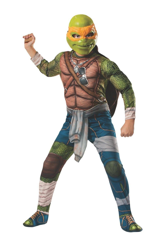 Teenage Mutant Ninja Turtles Muskel Michelangelo Kinderkostüm ...