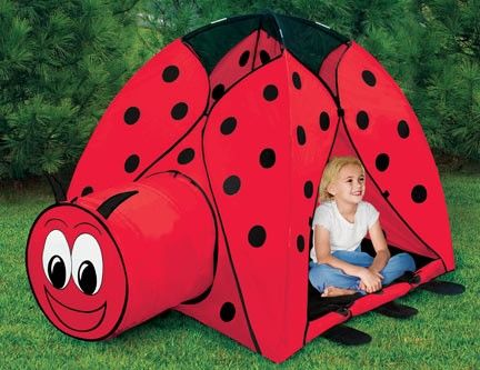 ladybug tent  sc 1 st  Pinterest & ladybug tent | Kids | Pinterest | Ladybug