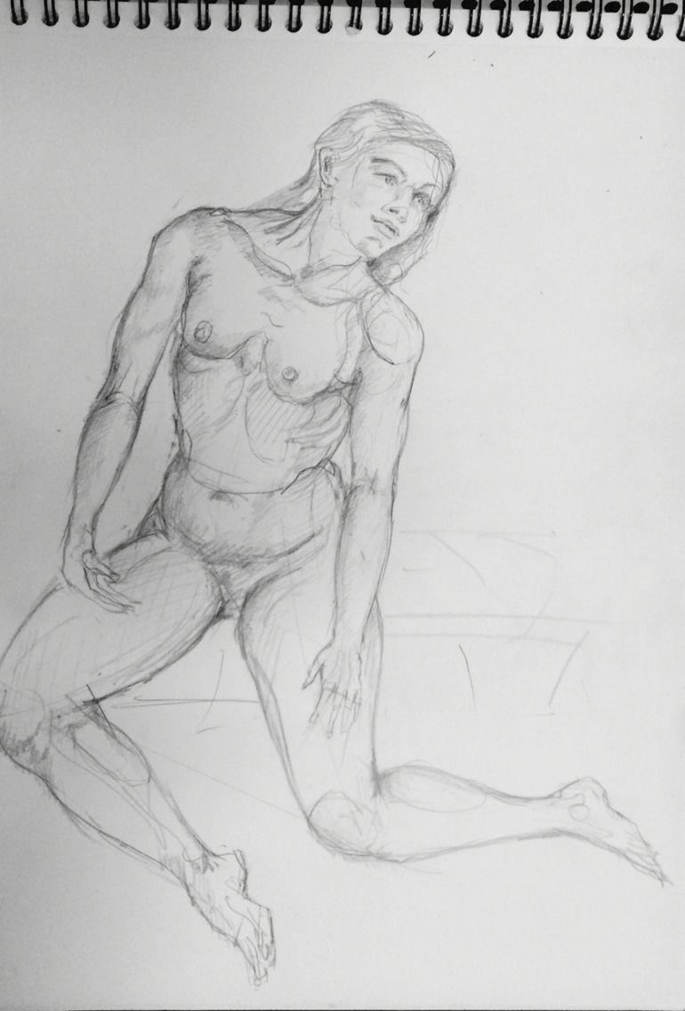 Dessiner un modèle nu ? Vous apprenez à observer une personne dune autre façon et vous découvrez à laide du professeur comment sont les proportions.