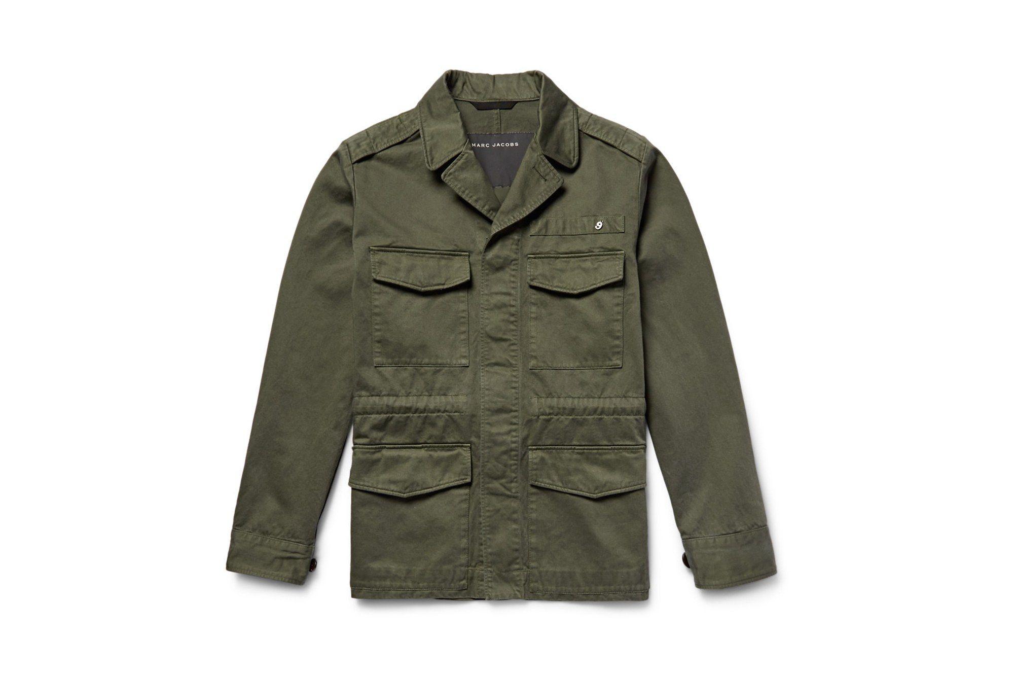 10 Utility Jackets Your Work Wardrobe Will Love Field Jacket Jackets Leather Jacket Style [ 1333 x 2000 Pixel ]