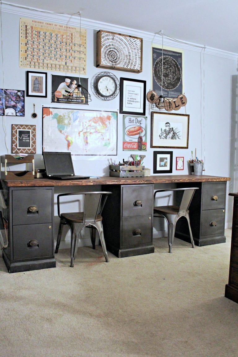 Diy Filing Cabinet Desk File Cabinet Desk File Cabinet Desk Diy Diy Office Desk