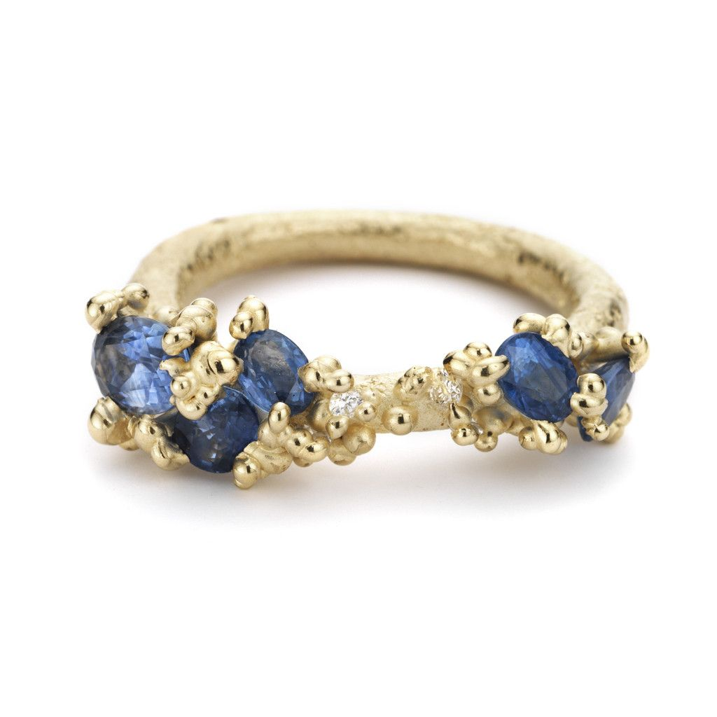 Sapphire Encrusted Ring – Ruth Tomlinson
