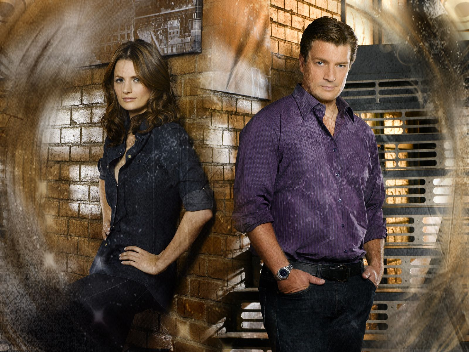castle the tv show funny moments pics | Castle & Beckett Castle & Kate