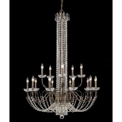 Cool! :)) Pin This & Follow Us! zBrands.com is your Light Fixture Gallery ;) CLICK IMAGE TWICE for Pricing and Info :) SEE A LARGER SELECTION chandeliers at http://www.zbrands.com/Chandeliers-C35.aspx - #homeimprovement #homedecor #lighting  #lights #lightandfixture #chandeliers -Crystorama Chandeliers - Traditional Classic 15 Light Crystal Candle Chandelier