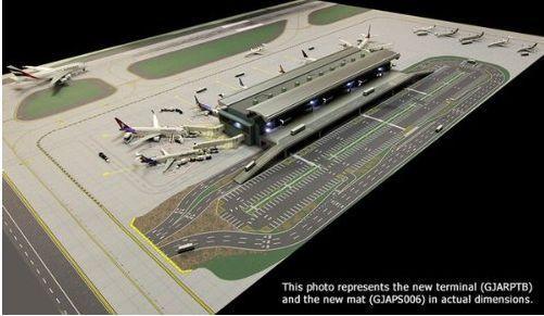 Gemini Jets 1 400 Gjarptb Terminal Set 44 Airport Airside Landside 1 400 Gemini Airport Model Airplanes