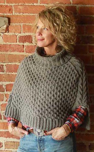 Hopkins pattern by Jill Zielinski | Ponchos