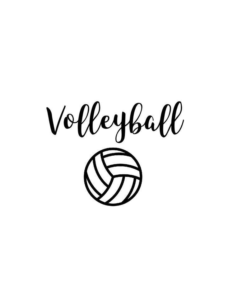 Pin By Svetlana Golovin On Cute Wallpaper Volleyball Wallpaper Volleyball Drawing Volleyball Players