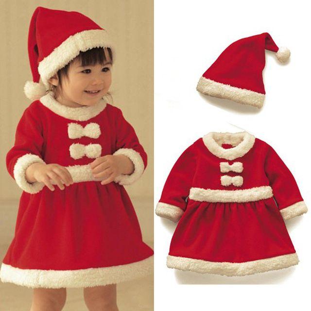 1a24d53142f3a Enfants De Noël cadeau 2016 bébé salopette bébé filles garçons Santa Claus  costume outfit nouveau-né garçons filles barboteuse enfants costume