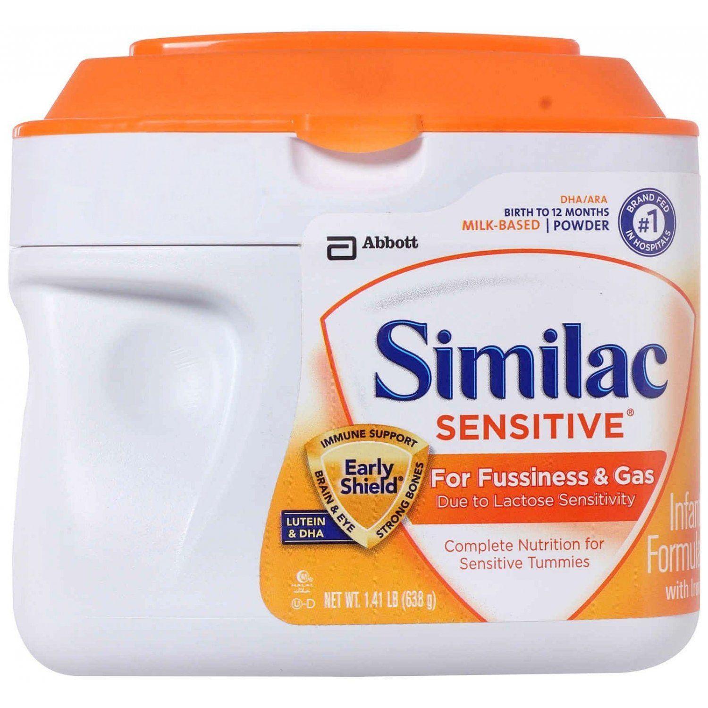 Similac Sensitive Infant Formula Powder With Iron Baby Formula Similac Similac Formula