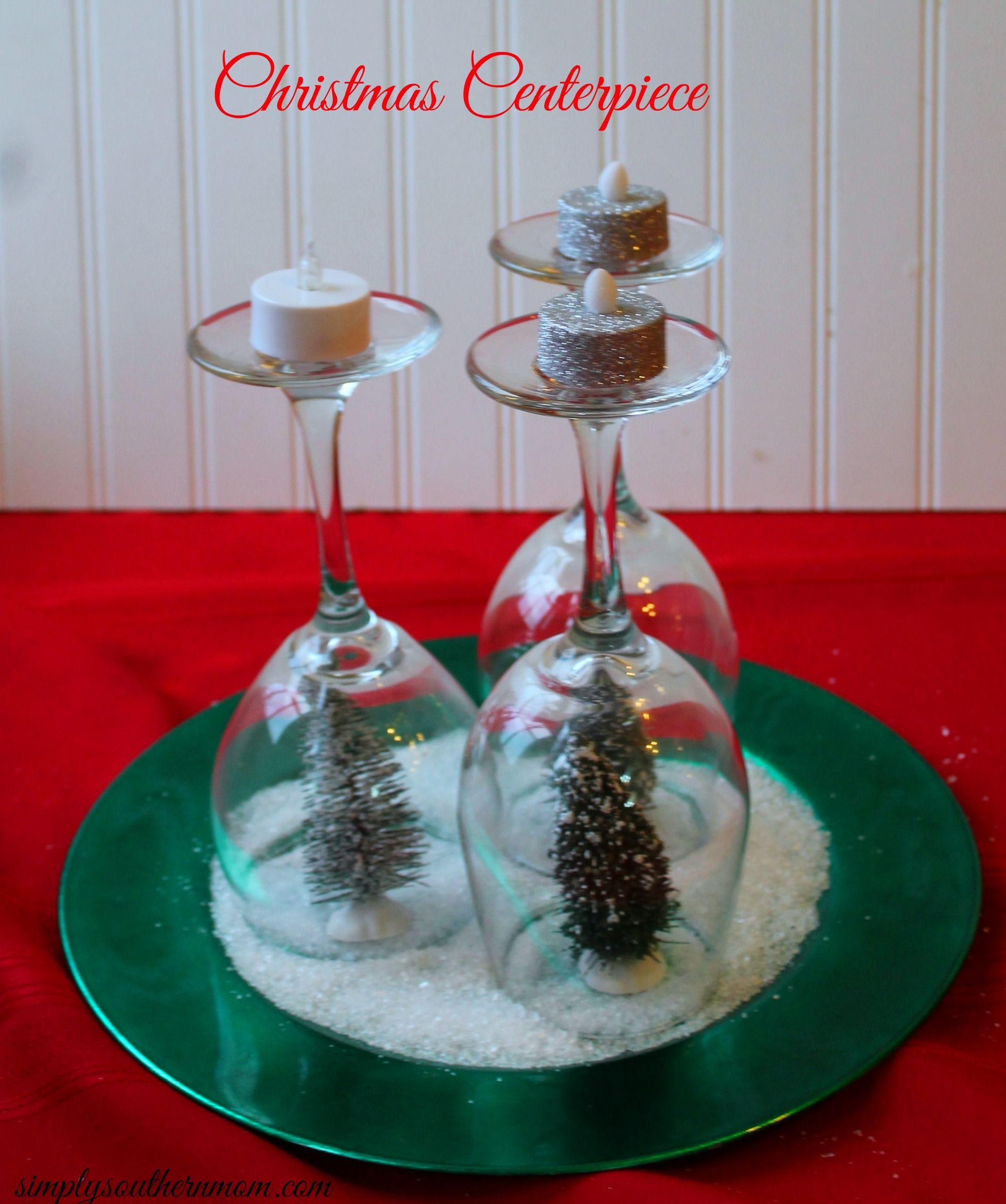 cheap christmas centerpieces