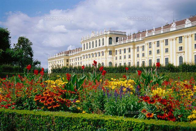 schoenbrunn palace gardens   Schoenbrunn Palace and Gardens[20025204162]  写真素材 ...