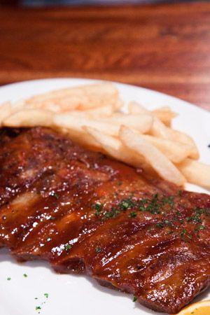 Black Steer Restaurant Trianon Mauritius Pork Ribs Restaurant Foodie