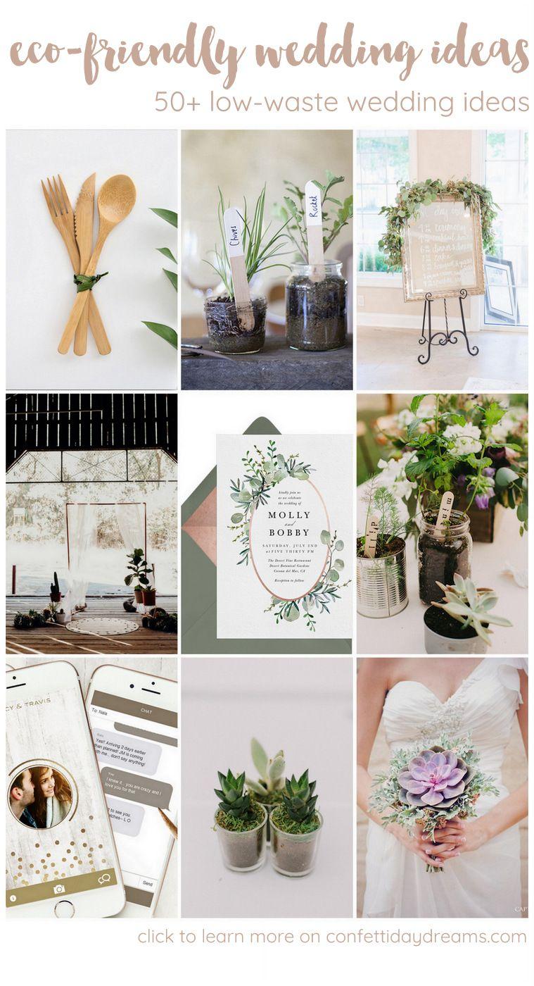 Photo of 50+ Beautiful Eco-Friendly, Zero Waste + Sustainable Wedding Ideas