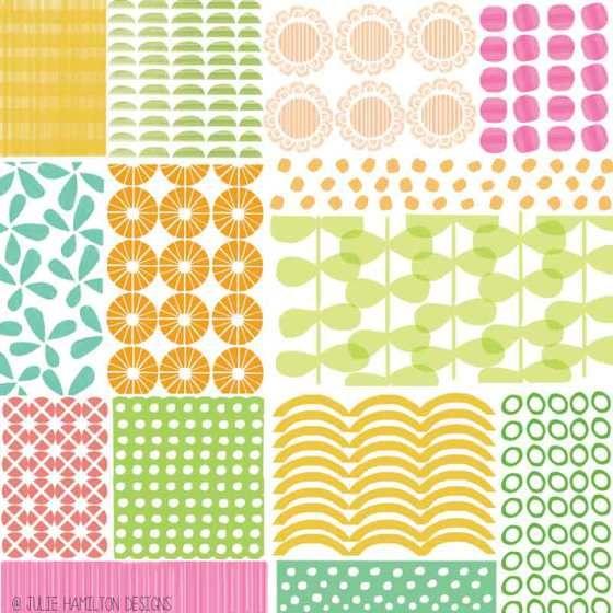 Summer Quilt - Julie Hamilton Designs {artistically afflicted blog}