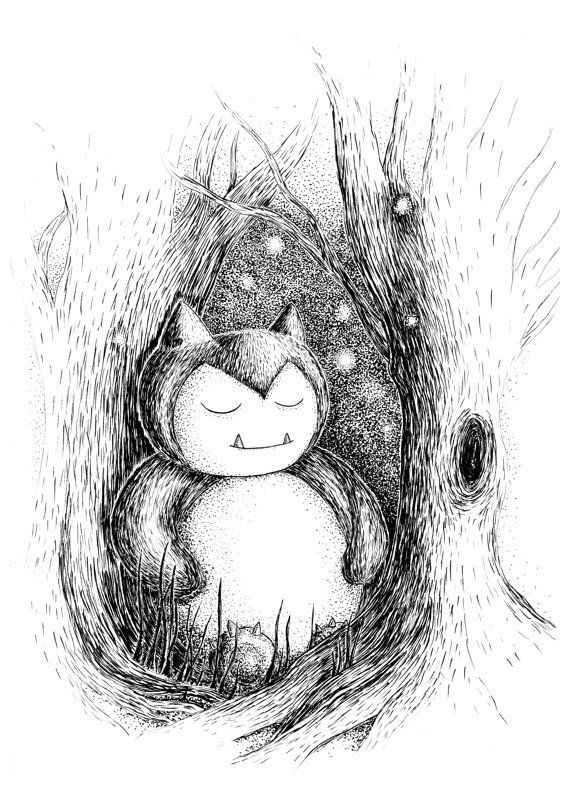 Pokemon Drawings made by Jon Turner -