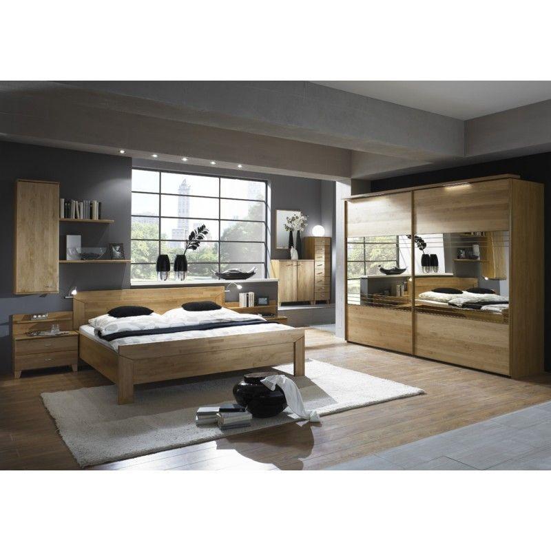Schlafzimmer Set Erle teilmassiv \/Mocca Neu OVP Furnitures - schlafzimmer set 180x200