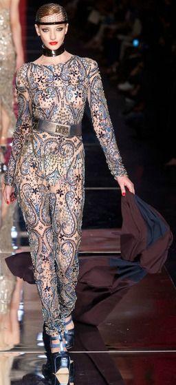 Couture Fall 2012 - Jean Paul Gaultier http://creativelymindful.blogspot.com/