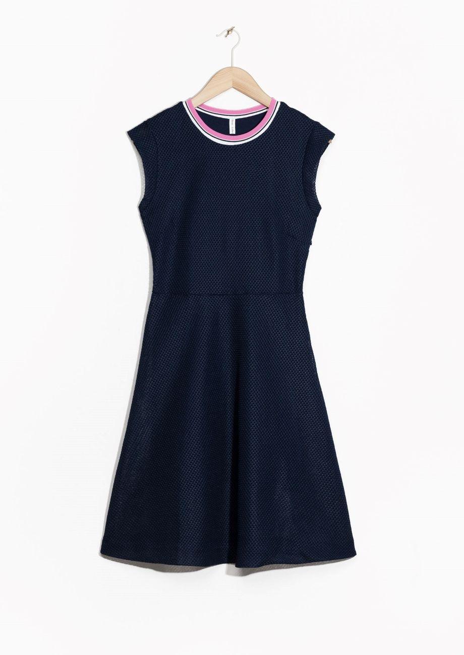 & Other Stories | A-Line Mesh Dress