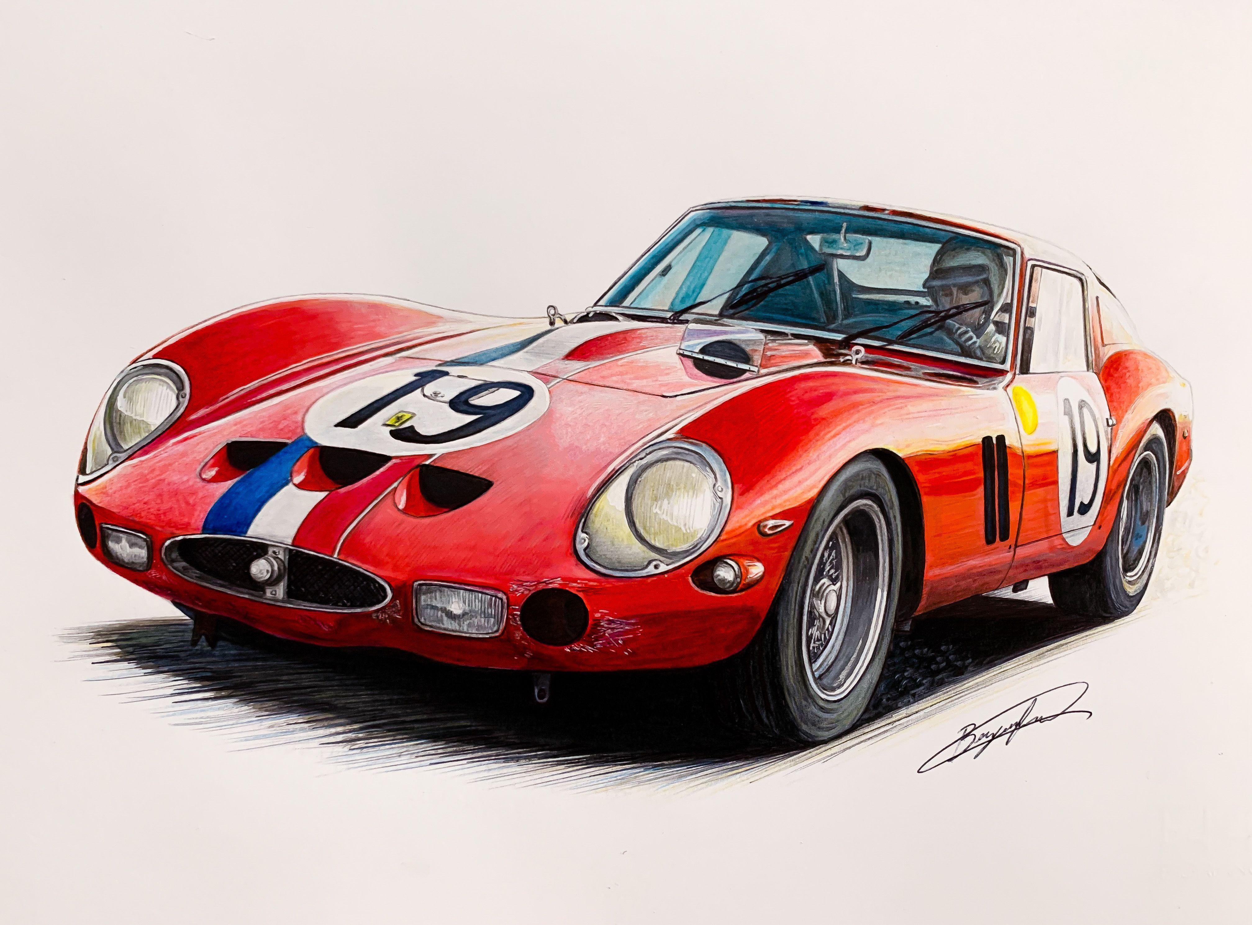 Ferrari 250 GTO LeMans 1962 n.19 - -