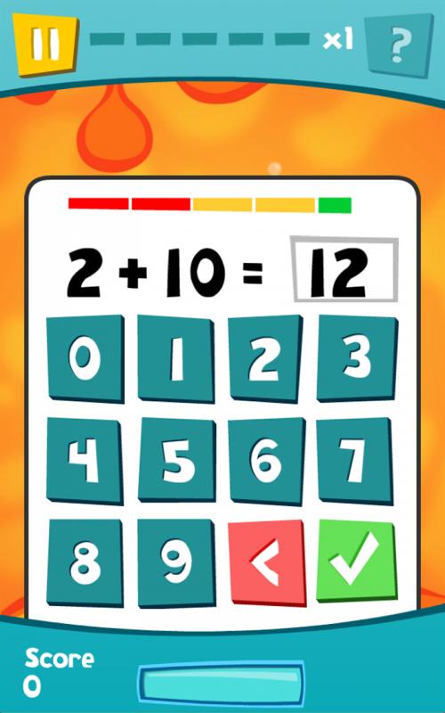 Free math app Xgerms addition makes practicing math fun! | STEM ...