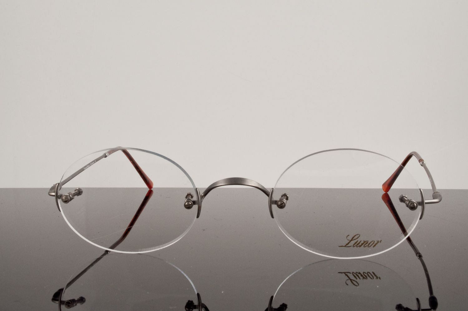 Rimless Glasses Shapes : My beloved original Lunor Classic Oval glasses in AS ...