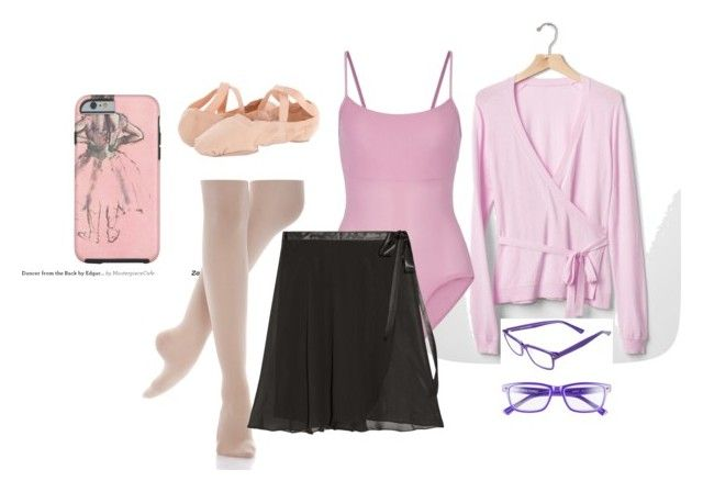 """My friend"" by cray-cray-cupcake on Polyvore featuring Gap, Ballet Beautiful, Bloch and Corinne McCormack"