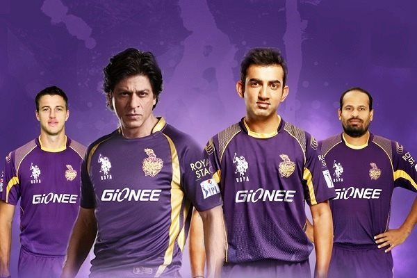 Ipl 2015 Jersey For Kolkata Knight Riders Team Pictures Images