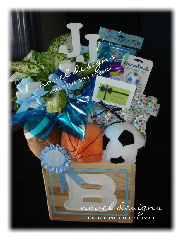 Baby boy giftbaskets lasvegas custom sports theme baby gift baby boy giftbaskets lasvegas custom sports theme baby gift basket contact negle Image collections