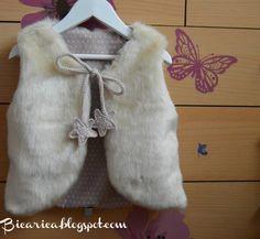 Chalecos de pelo |Bicarica|Ropita artesanal para bebés y niños/Ropa artesanal para bebé hecha en casa/Handmade baby clothes