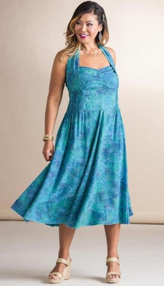 15bfc652181 Making it Big Blanche Dress to 8X