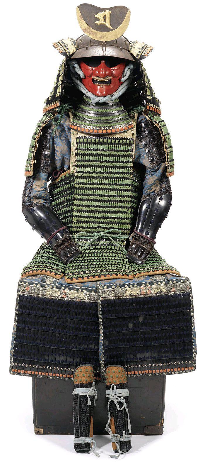 Semaki Kabuto - Hime Yoroi (princess armour)  Late Edo Period, 19th