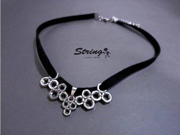 Necklace (hexagonal nut )