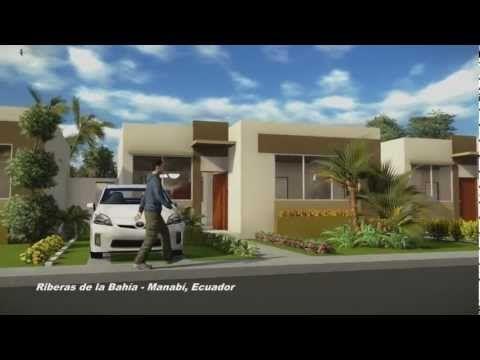 Riberas de la Bahía Casa de una planta (Animación 3D