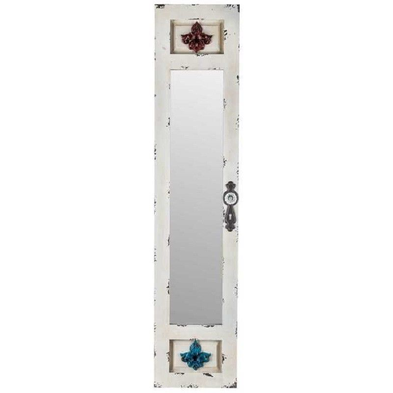 Details about distressed rustic country arched window door