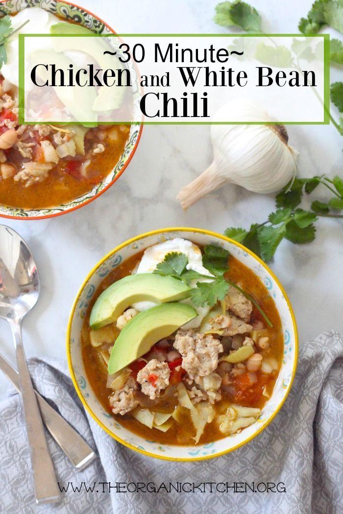 Chicken and White Bean Chili | Recipe | Chili, Beans and Blog