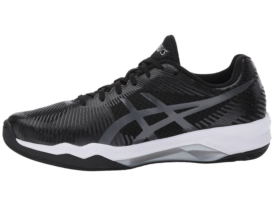 Asics Volley Elite Ff Women S Volleyball Shoes Black Dark Grey White Volleyball Shoes Volley Asics