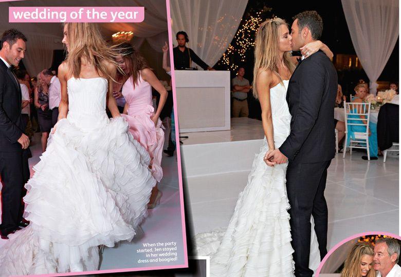 Jennifer hawkins wedding invitations